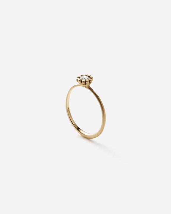 Gray Diamond Flower Ring   ダイヤモンド リング【10/1 fri.〜10 sun. 期間限定受注会】<img class='new_mark_img2' src='https://img.shop-pro.jp/img/new/icons8.gif' style='border:none;display:inline;margin:0px;padding:0px;width:auto;' />