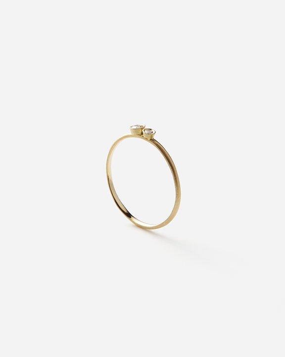 Married Double White Diamond Ring   ダイヤモンド リング【10/1 fri.〜10 sun. 期間限定受注会】<img class='new_mark_img2' src='https://img.shop-pro.jp/img/new/icons8.gif' style='border:none;display:inline;margin:0px;padding:0px;width:auto;' />