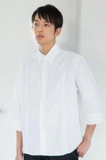 199プリンスカットシャツ 七分袖メンズ