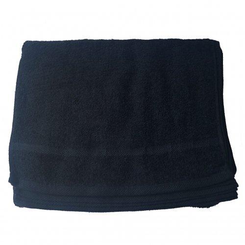00741 ブラックタオル200匁 1ダース(12枚入)