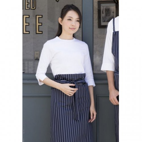 <img class='new_mark_img1' src='https://img.shop-pro.jp/img/new/icons38.gif' style='border:none;display:inline;margin:0px;padding:0px;width:auto;' />76010ストライプ ニューエプロン ロング