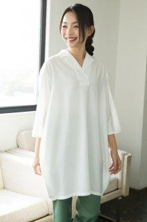 29016シャツワンピース 裾バルーン【在庫限り】