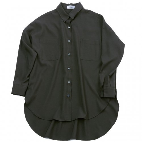 22010ビッグシャツ ドロップショルダー