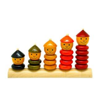 100%自然素材の木製おもちゃ【Maya Organic】ペピー・ファイブ