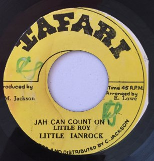 LITTLE IANROCK ( LITTLE ROY ) - JAH CAN COUNT I<img class='new_mark_img2' src='https://img.shop-pro.jp/img/new/icons25.gif' style='border:none;display:inline;margin:0px;padding:0px;width:auto;' />