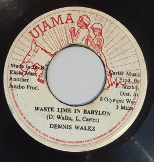 DENNIS WALKS - WASTE TIME IN BABYLON