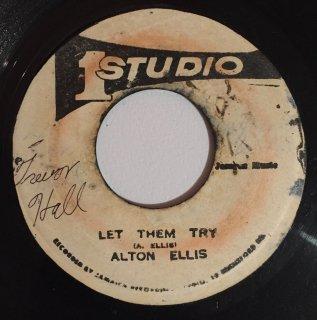 ALTON ELLIS - LET THEM TRY
