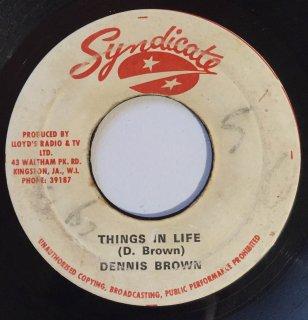 DENNIS BROWN - THINGS IN LIFE