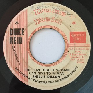 PHILLIS DILLON - THE LOVE THAT A WOMAN CAN GIVE TO A MAN
