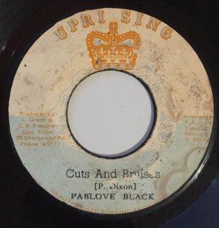 PABLOVE BLACK - CUTS AND BRUISES