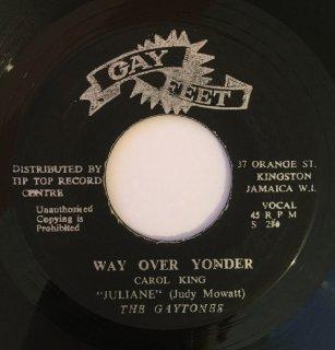 GAYTONES ( JUDY MOWATT ) - WAY OVER YONDER