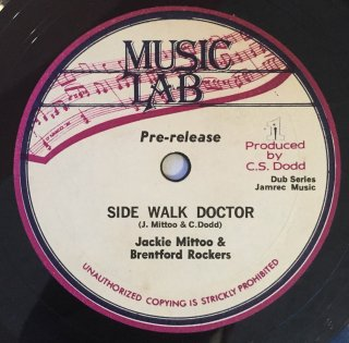 JACKIE MITTOO & BRENTFORD ROCKERS - SIDE WALK DOCTOR<img class='new_mark_img2' src='https://img.shop-pro.jp/img/new/icons25.gif' style='border:none;display:inline;margin:0px;padding:0px;width:auto;' />