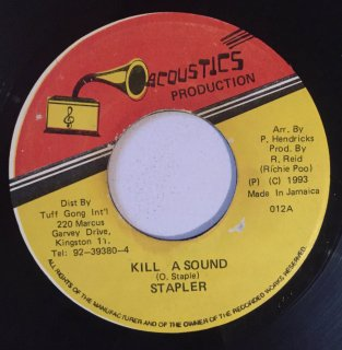 STAPLER - KILL A SOUND