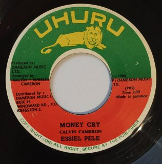 ESSIEL PELE - MONEY CRY<img class='new_mark_img2' src='https://img.shop-pro.jp/img/new/icons25.gif' style='border:none;display:inline;margin:0px;padding:0px;width:auto;' />