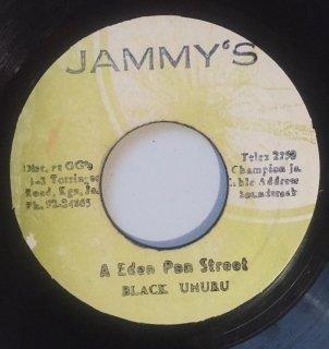 BLACK UHURU - A EDEN PAN STREET