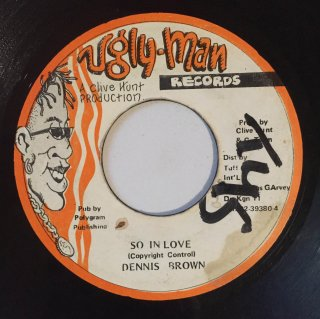 DENNIS BROWN - SO IN LOVE