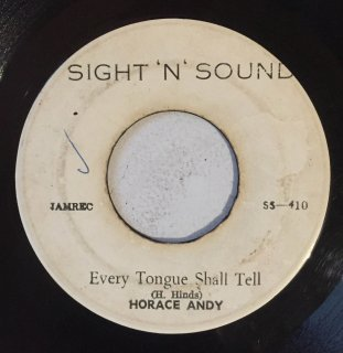 HORACE ANDY - EVERY TONGUE SHALL TELL