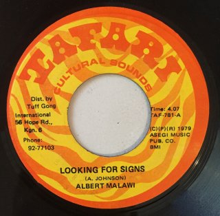 ALBERT MALAWI - LOOKING FOR SIGNS