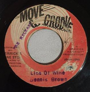 DENNIS BROWN - LIPS OF WINE