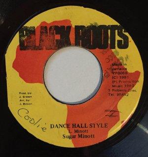 SUGAR MINOTT - DANCE HALL STYLE