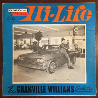 GRANVILLE WILLIAMS - HI LIFE<img class='new_mark_img2' src='https://img.shop-pro.jp/img/new/icons25.gif' style='border:none;display:inline;margin:0px;padding:0px;width:auto;' />