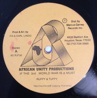 RUFFY & TUFFY - IF THE 3RD WORLD WAR IS A MUST