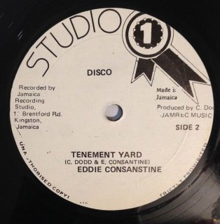 EDDIE CONSANSTINE - TENEMENT YARD