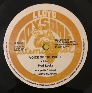FRED LOCKS - VOICE OF THE POOR