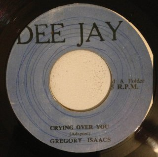 GREGORY ISAACS - CRYING OVER YOU