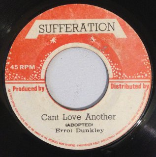 ERROL DUNKLEY - CANT LOVE ANOTHER