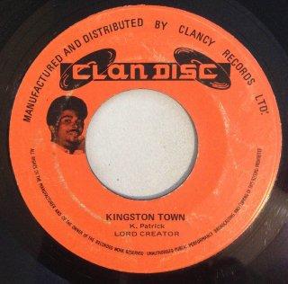LORD CREATOR - KINGSTON TOWN