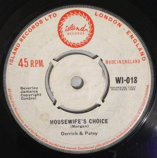 DERRICK & PATSY - HOUSEWIFE'S CHOICE