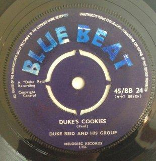DUKE REID - DUKE'S COOKIES