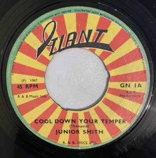 JUNIOR SMITH - COOL DOWN YOUR TEMPER