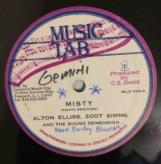 ALTON ELLIS & ZOOT SIMMS - MISTY