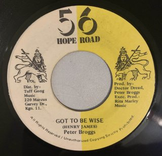 PETER BROGGS - GOT TO BE WISE