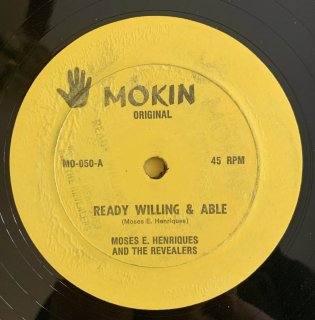 MOSES E HENRIQUES - READY WILLING & ABLE