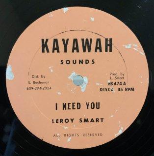 LEROY SMART - I NEED YOU