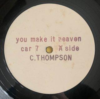 CARROL THOMPSON - YOU MAKE IT HEAVEN