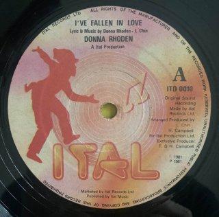 DONNA RHDDEN - I'VE FALLEN IN LOVE
