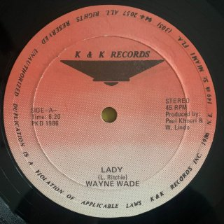 WAYNE WADE - LADY