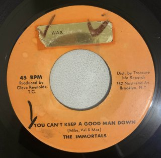 THE IMMORTALS - CAN'T KEEP A GOOD MAN DOWN