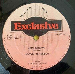 FREDDIE MCGREGOR - LOVE BALLARD