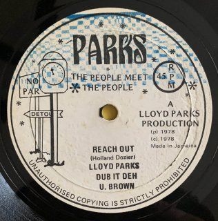 LLOYD PARKS & U BROWN - REACH OUT