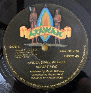 RUPERT REID - AFRICA SHALL BE FREE