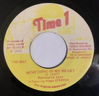 BARRINGTON LEVY & REGGIE STEPPER - SOMETHING IN MY HEART