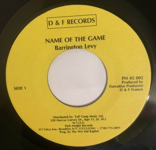 BARRINGTON LEVY - NAME OF THE GAME