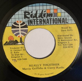 MARCIA GRIFFITHS & CUTTY RANKS - REALLY TOGETHER