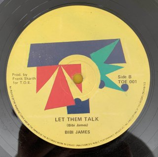 BIBI JAMES - LET THEM TALK