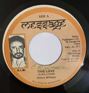 DELROY WILLIAMS - THIS LOVE